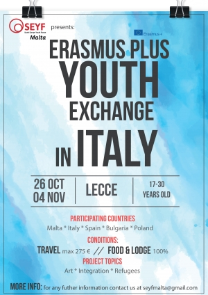 R.A.Y.  Youth Exchange in Italy